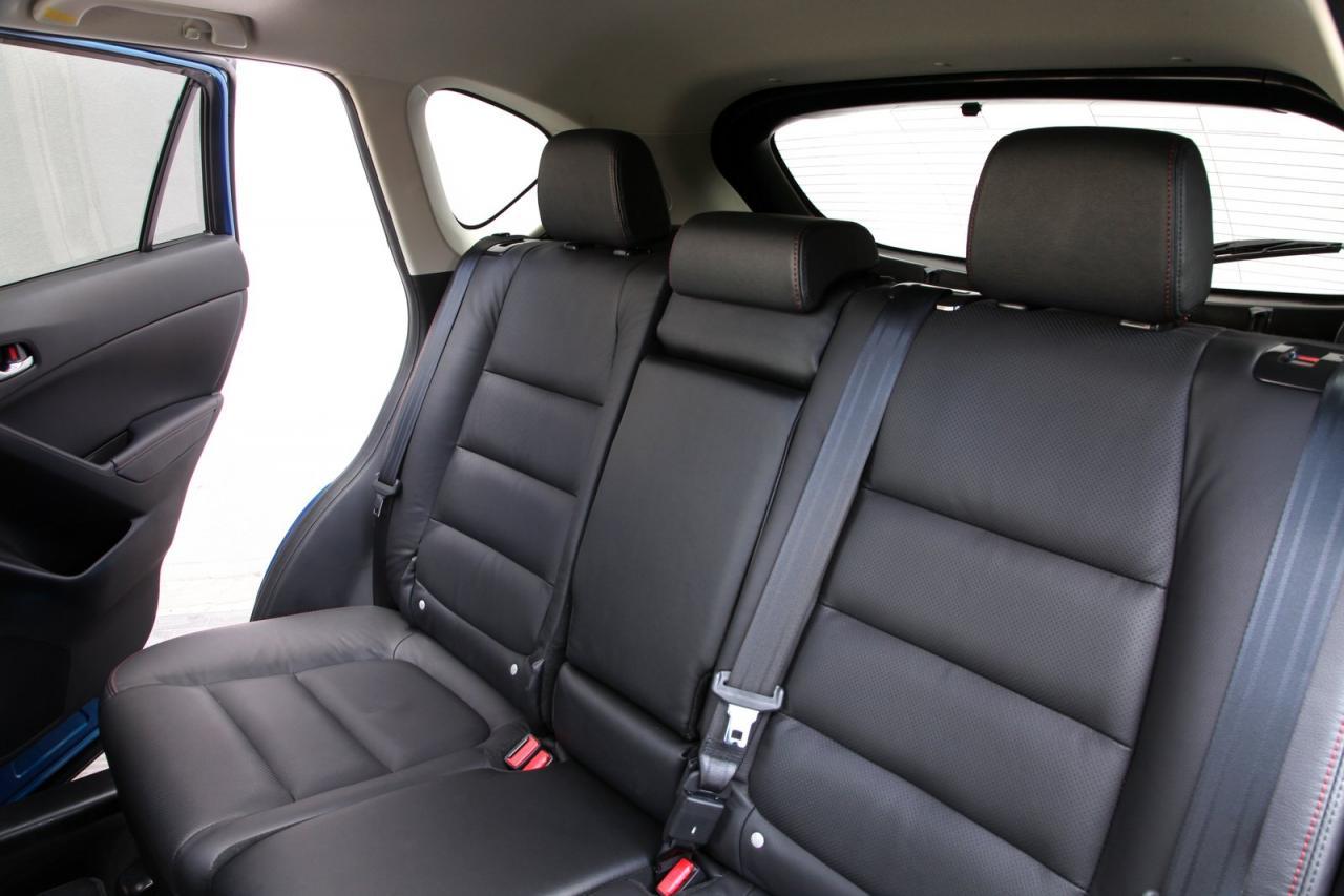 Mazda CX-5 rear seat
