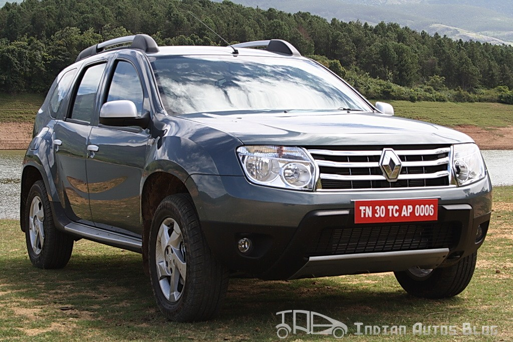Renault Duster crossover