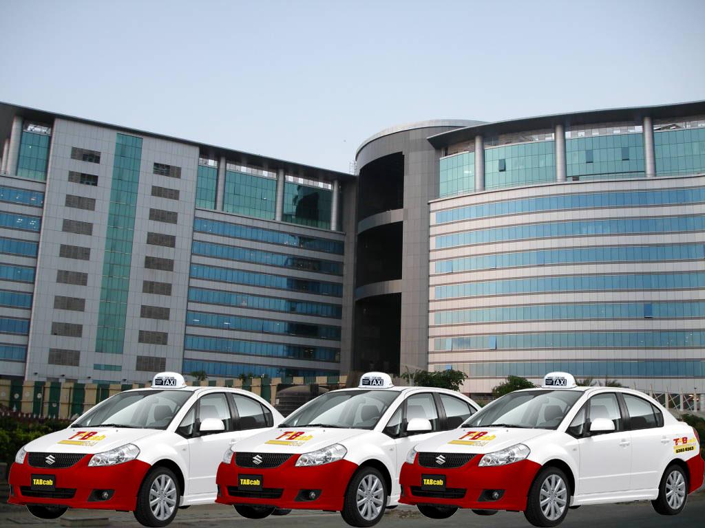 TABCab Maruti Suzuki SX4 fleet