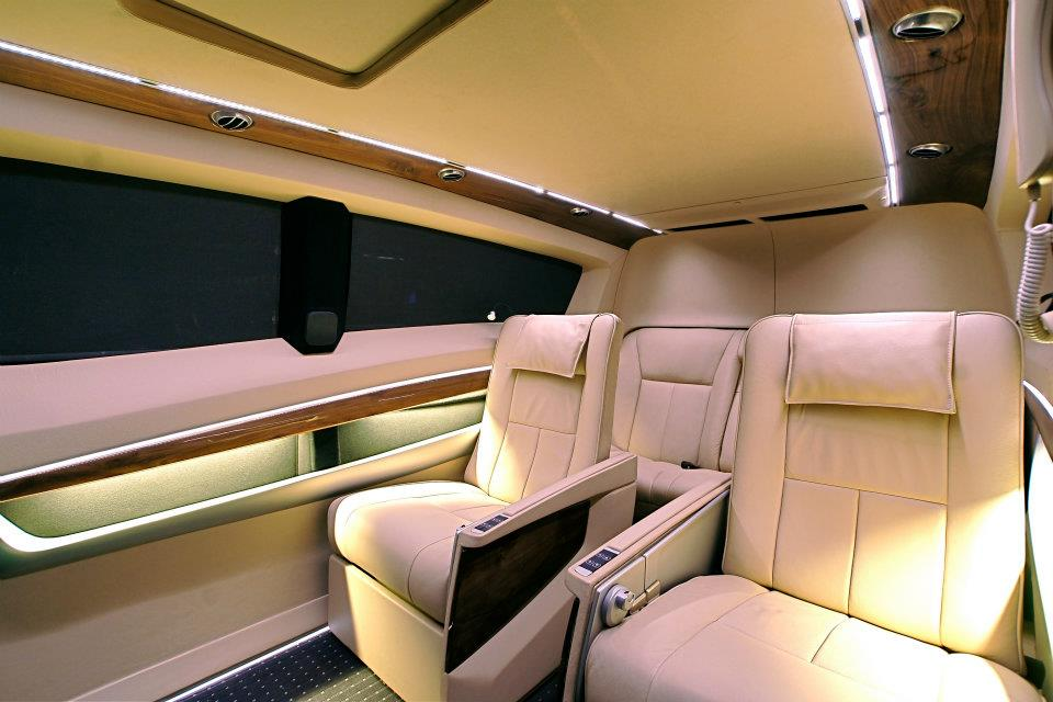 Tata Winger Executive Van interiors