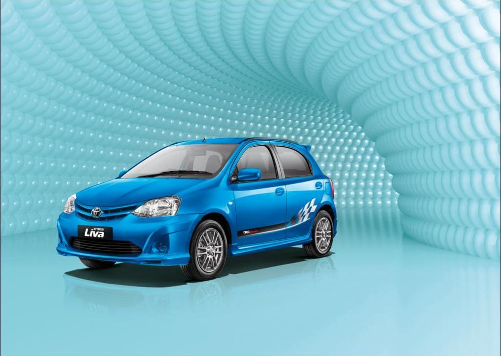 Toyota Etios Liva TRD Sportivo Limited Edition Blue