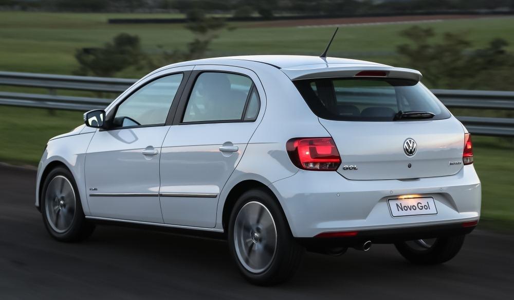 Volkswagen Gol rear