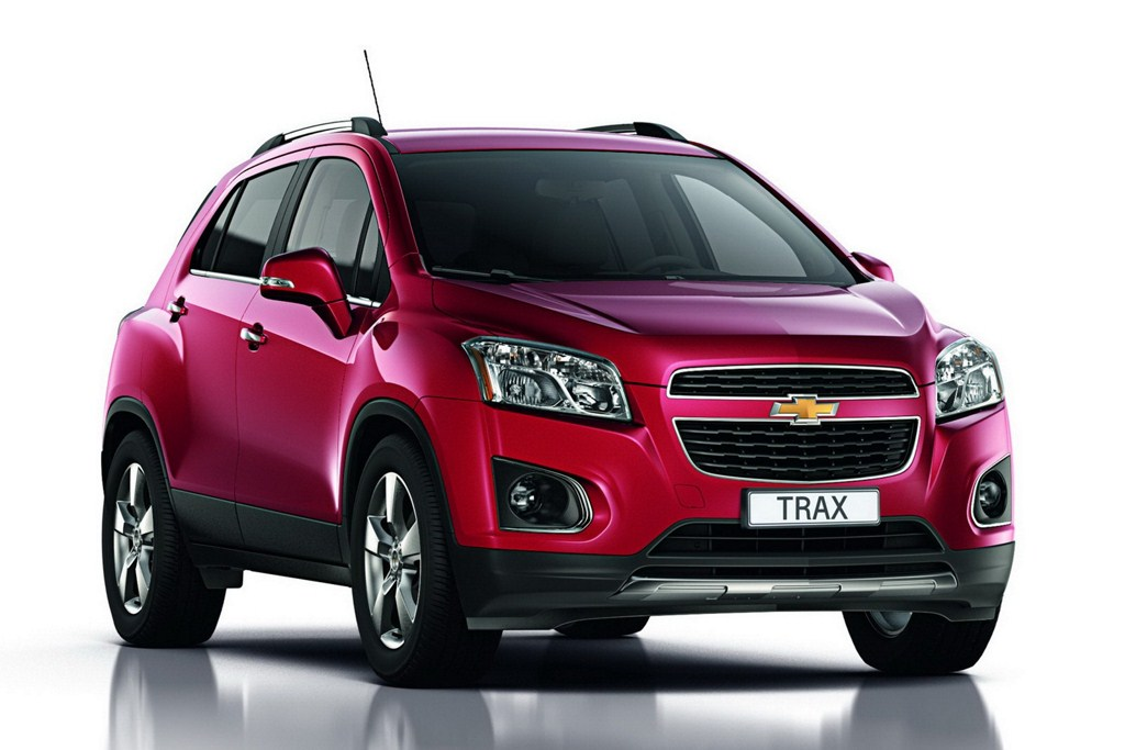 2013 Chevrolet Trax front