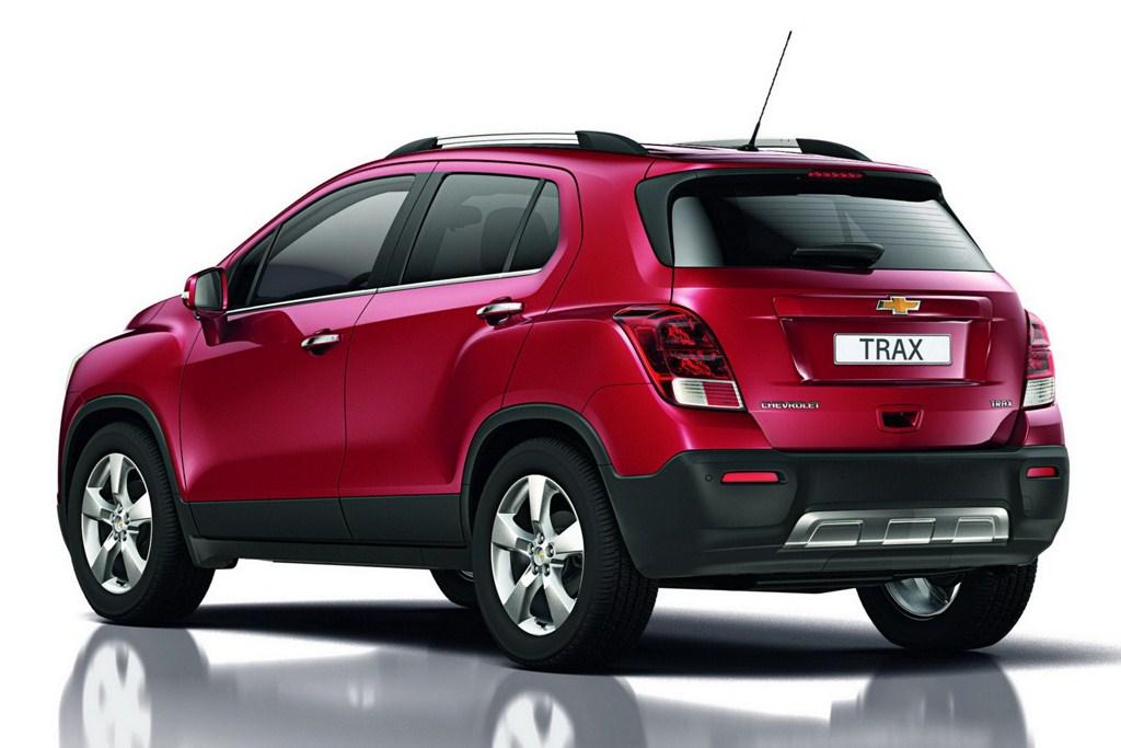 2013 Chevrolet Trax rear