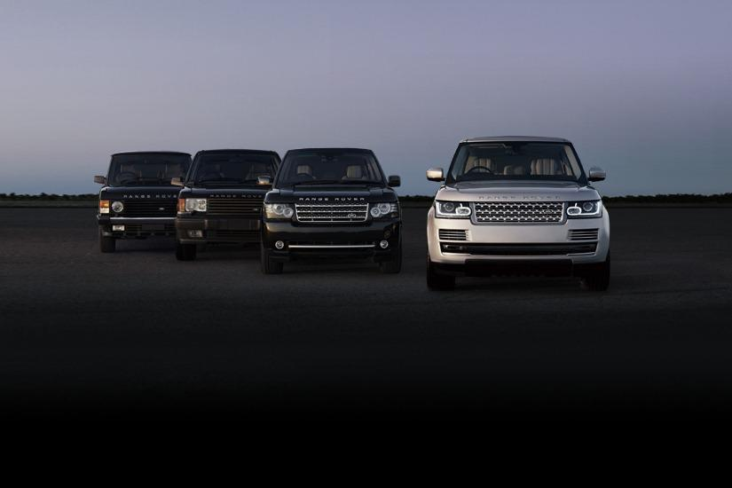 2013 Range Rover all generations