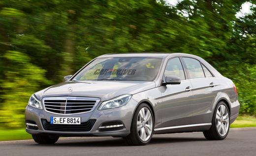 2014 Mercedes Benz E-Class sedan rendering