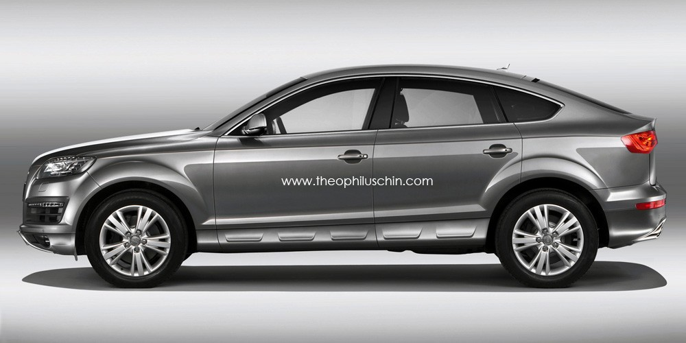Upcoming Audi Q6 comes back into focus