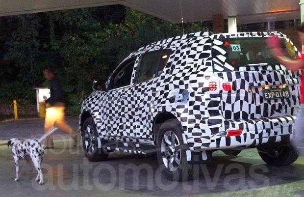 Chevrolet Trailblazer testing in Brazil