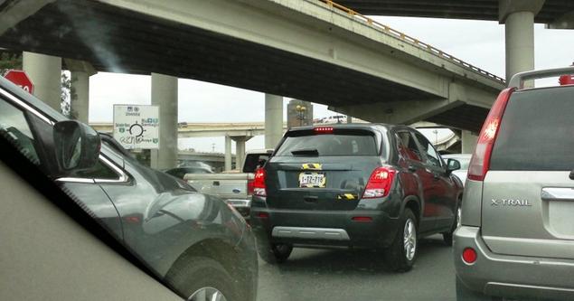 Chevrolet Trax rear