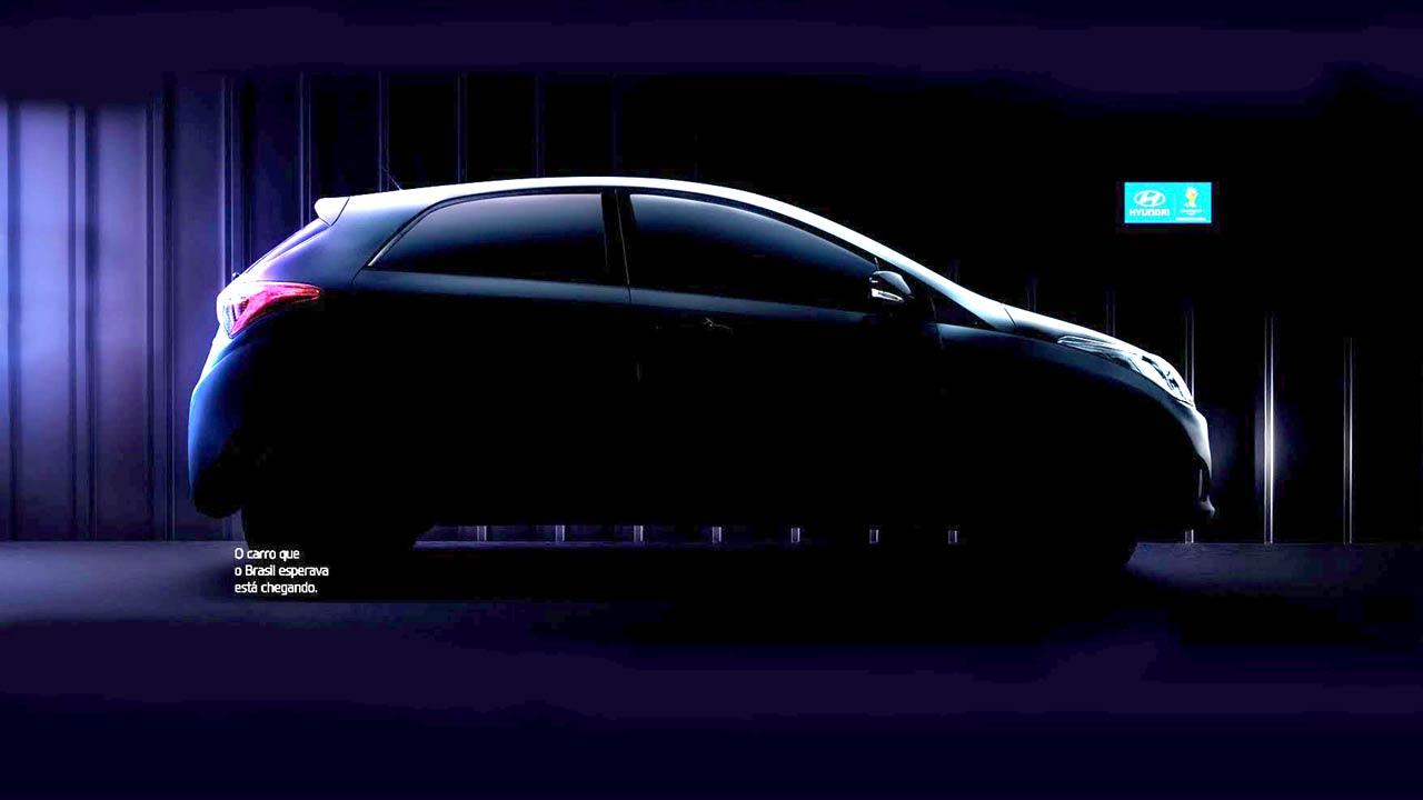 Hyundai HB20 - side profile