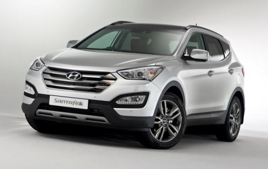 Hyundai Santa Fe 2013 model