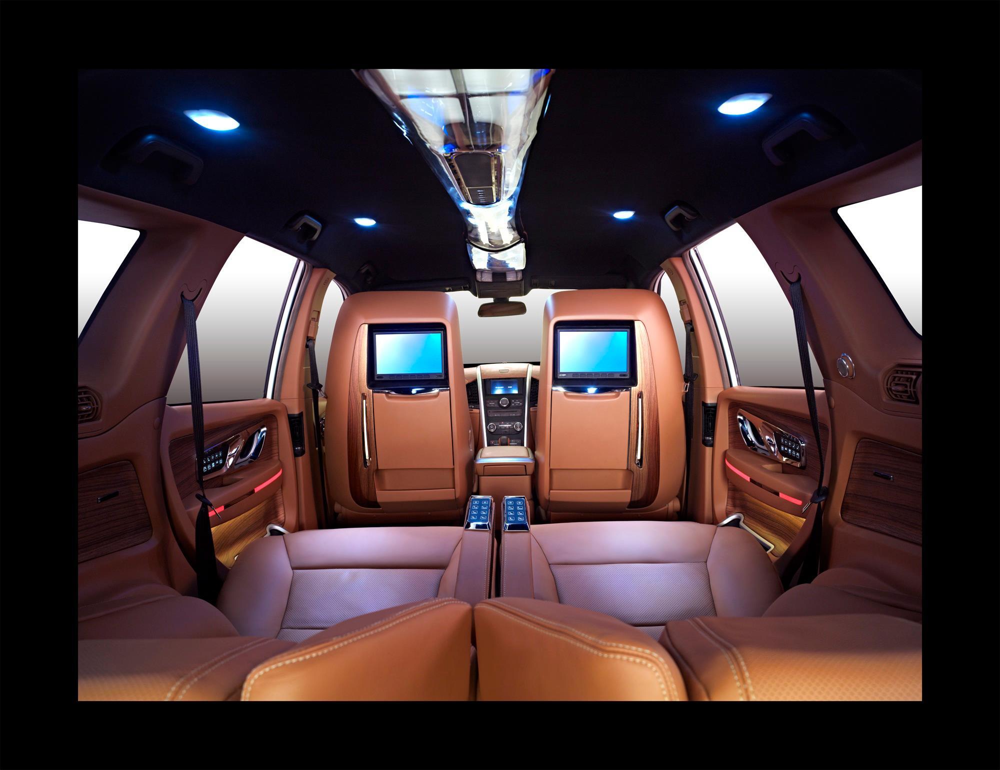 Mahindra XUV500 DC Design rear seat facing forward
