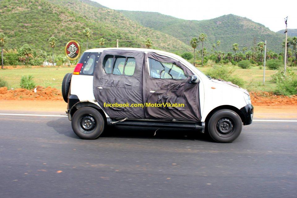 Mahindra mini Xylo mEagle side profile