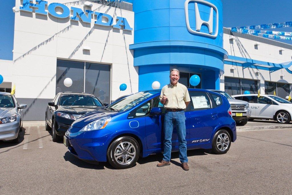 Matt Walton Honda Fit EV