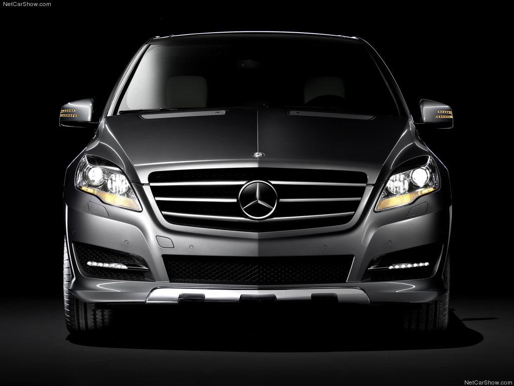 Mercedes R Class front