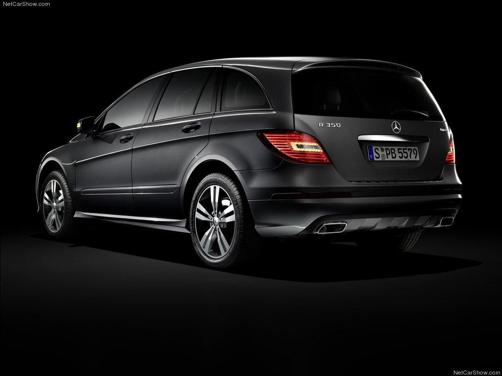 Mercedes R Class rear