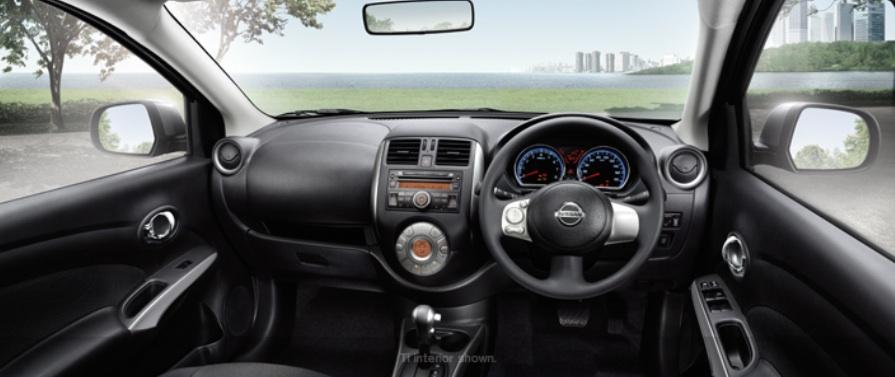 Nissan Almera Australia dashboard