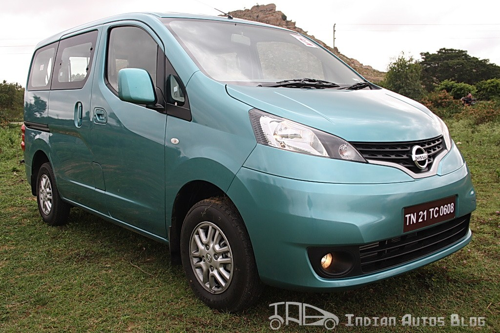 Nissan Evalia side profile