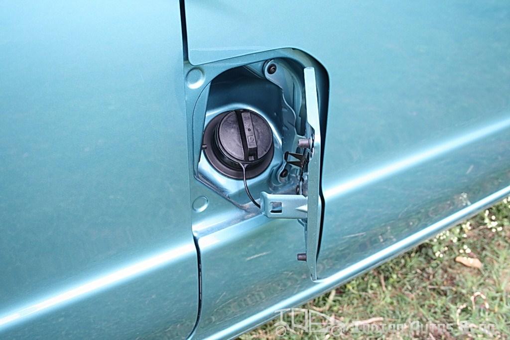 Nissan Evalia fuel cap