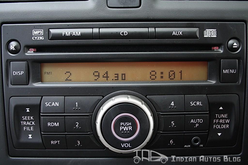 Renault Scala mucsic system