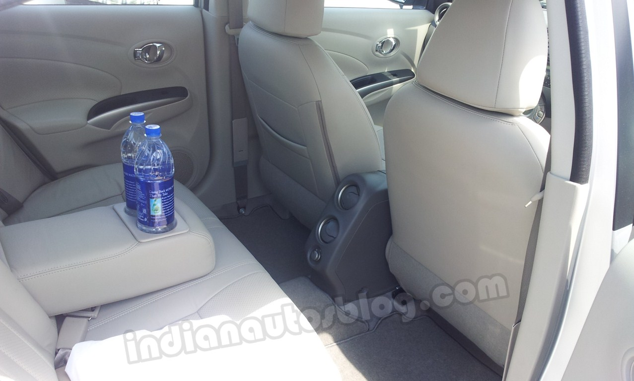 Renault Scala rear seat comfort