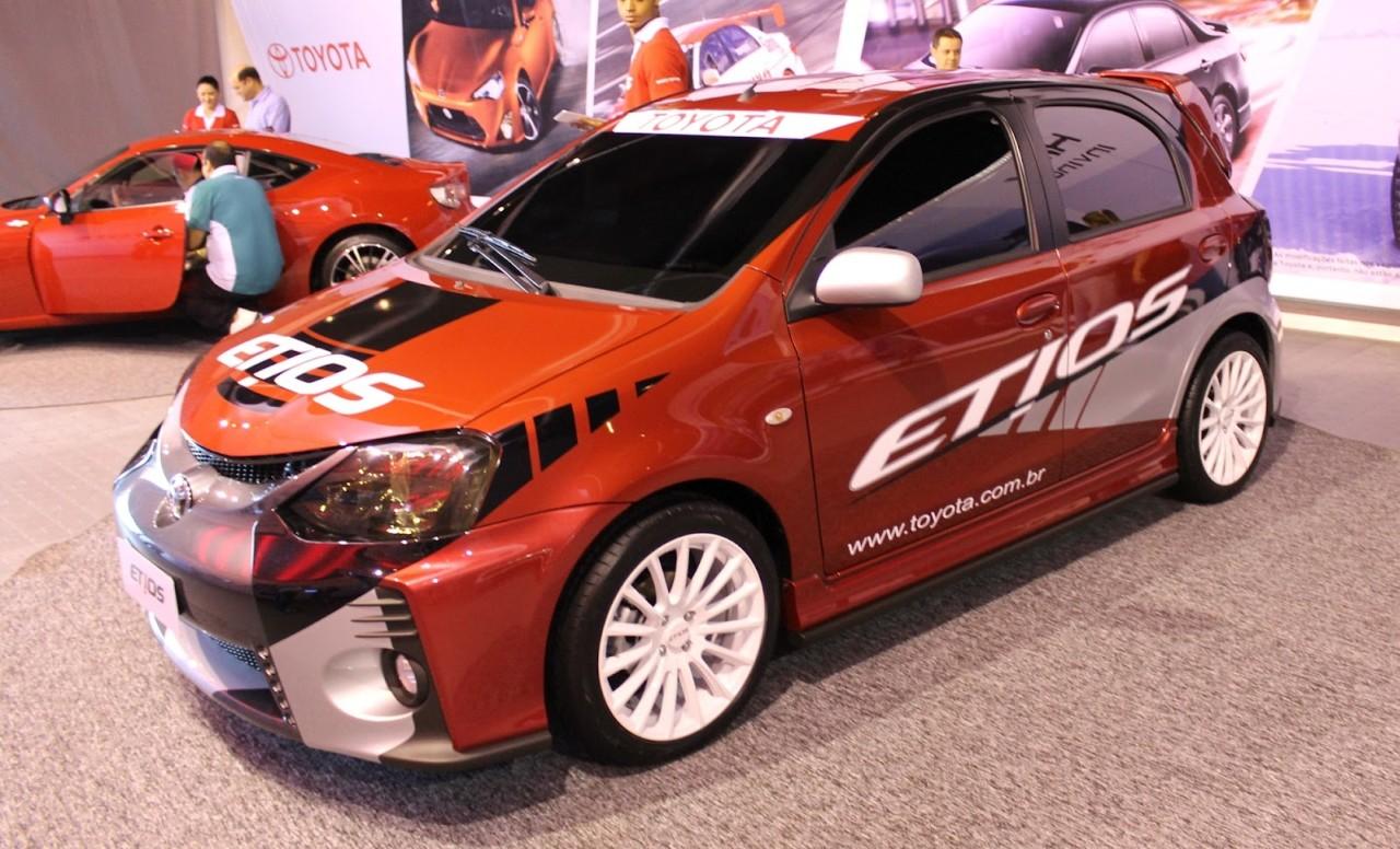 Toyota Etios sporty model Etios Connection Brazil