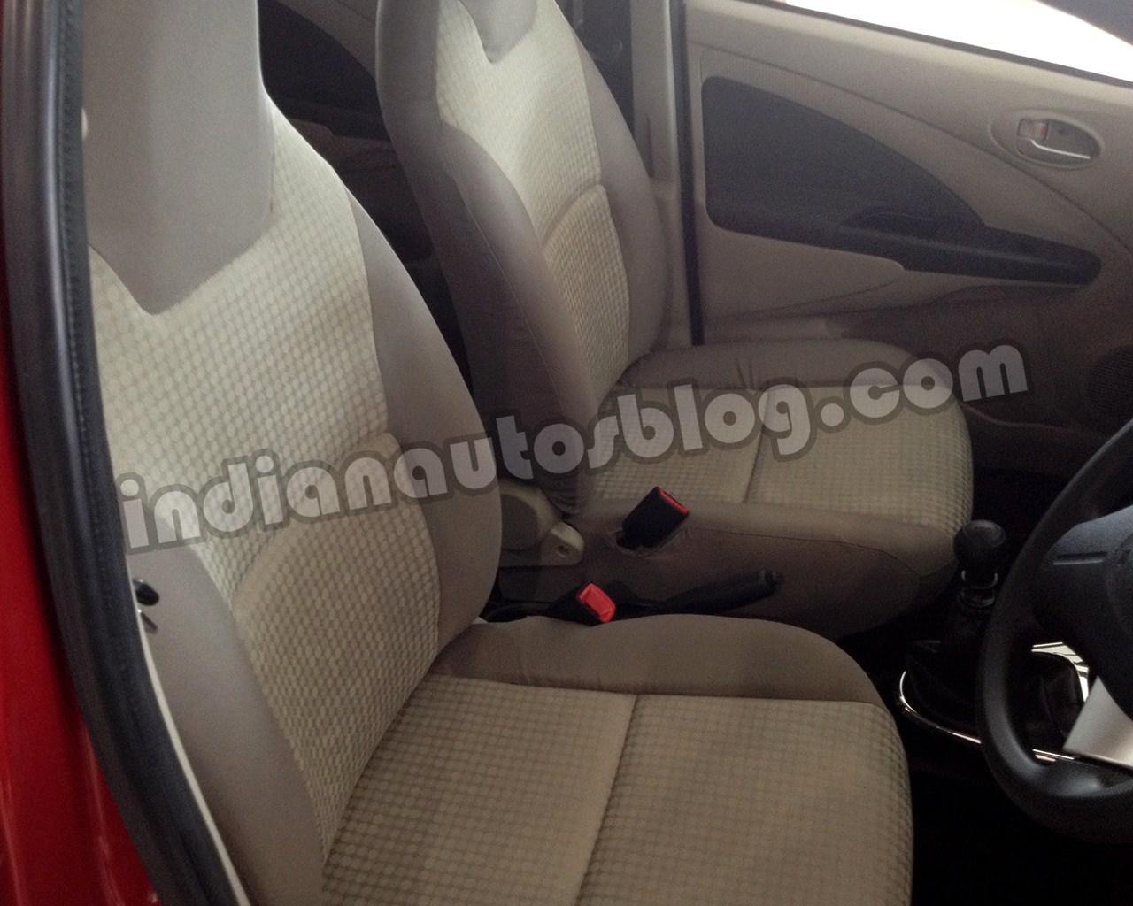 Toyota Etios with beige interior (4)