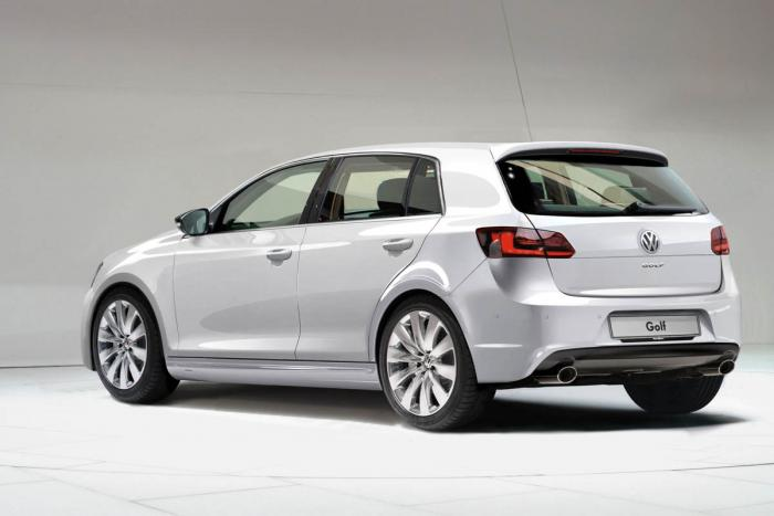 Volkswagen Golf MK7 rear