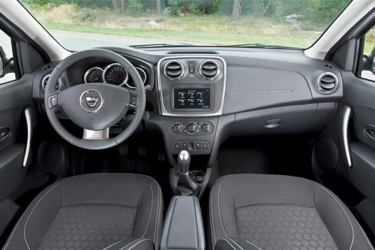 2013 Renault Sandero dashboard
