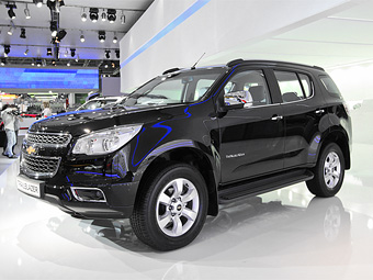 Chevrolet Trailblazer Russia