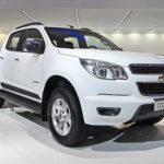 White Chevrolet Trailblazer Russia