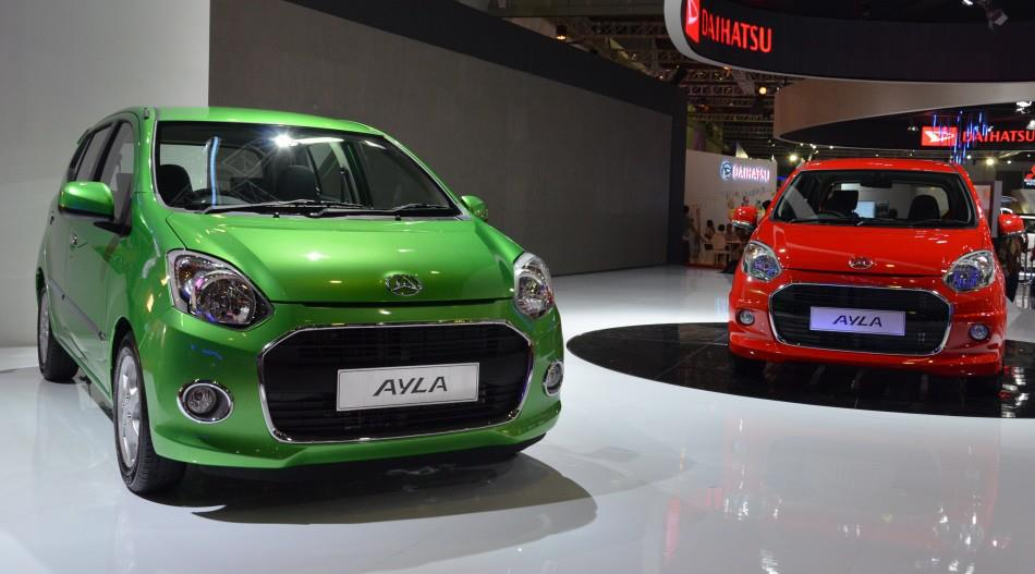 Daihatsu Ayla and Toyota Agya