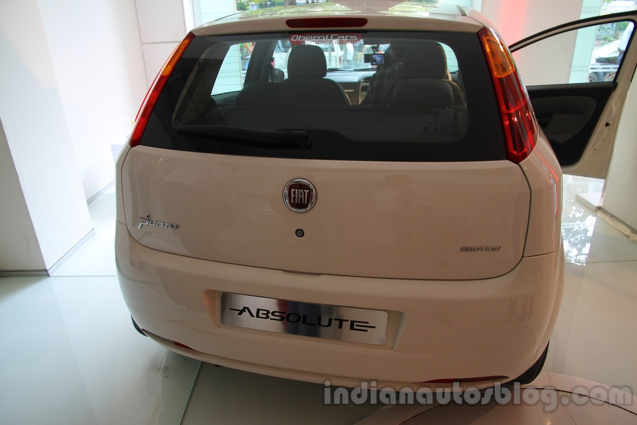 Fiat Punto Absolute Edition rear