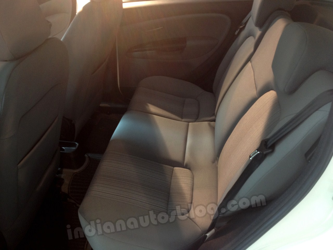 Fiat Punto Absolute Edition rear seat