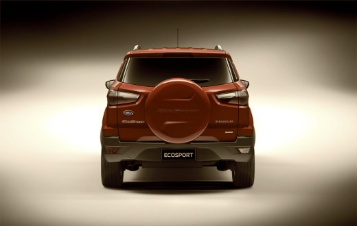 Charming Ford EcoSport Rear