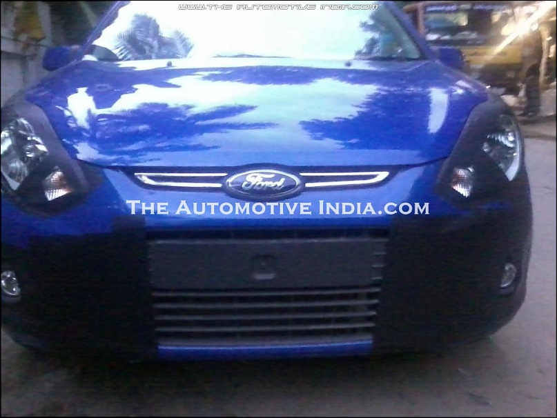 Ford Figo Facelift front