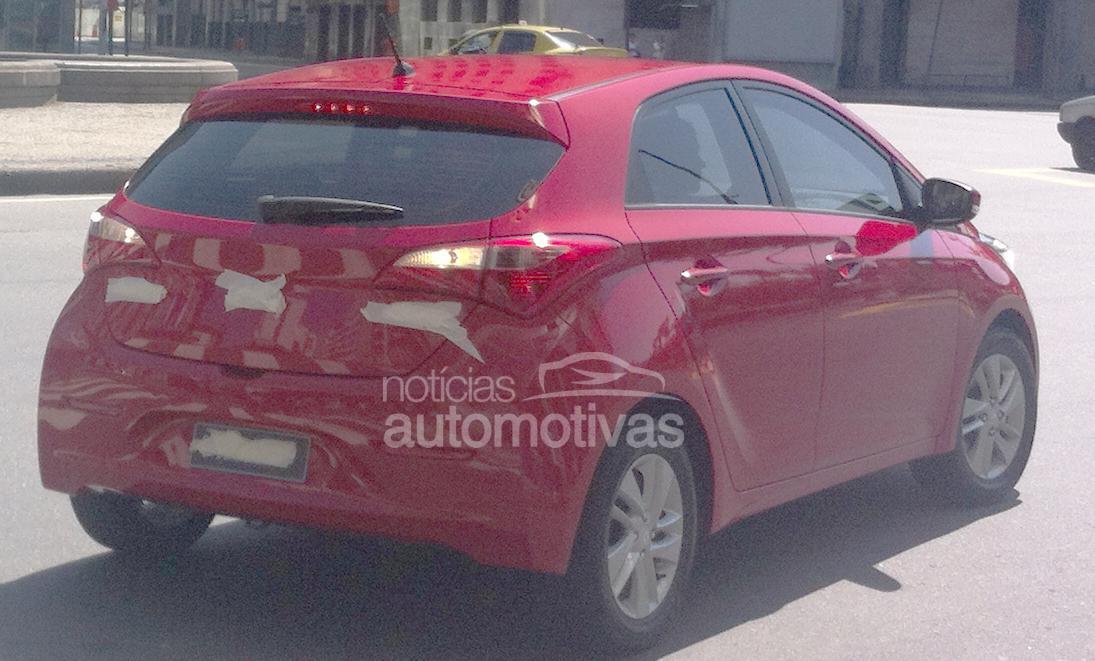 Hyundai HB20 rear