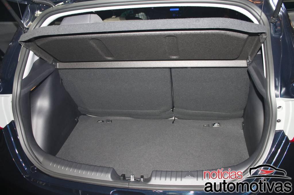 Hyundai HB20 boot space