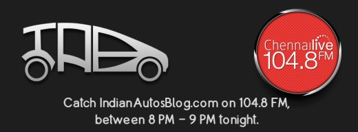 Indian Autos Blog on 104.8FM Chennai Live
