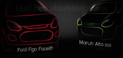 Maruti Alto 800 vs Ford Figo facelift