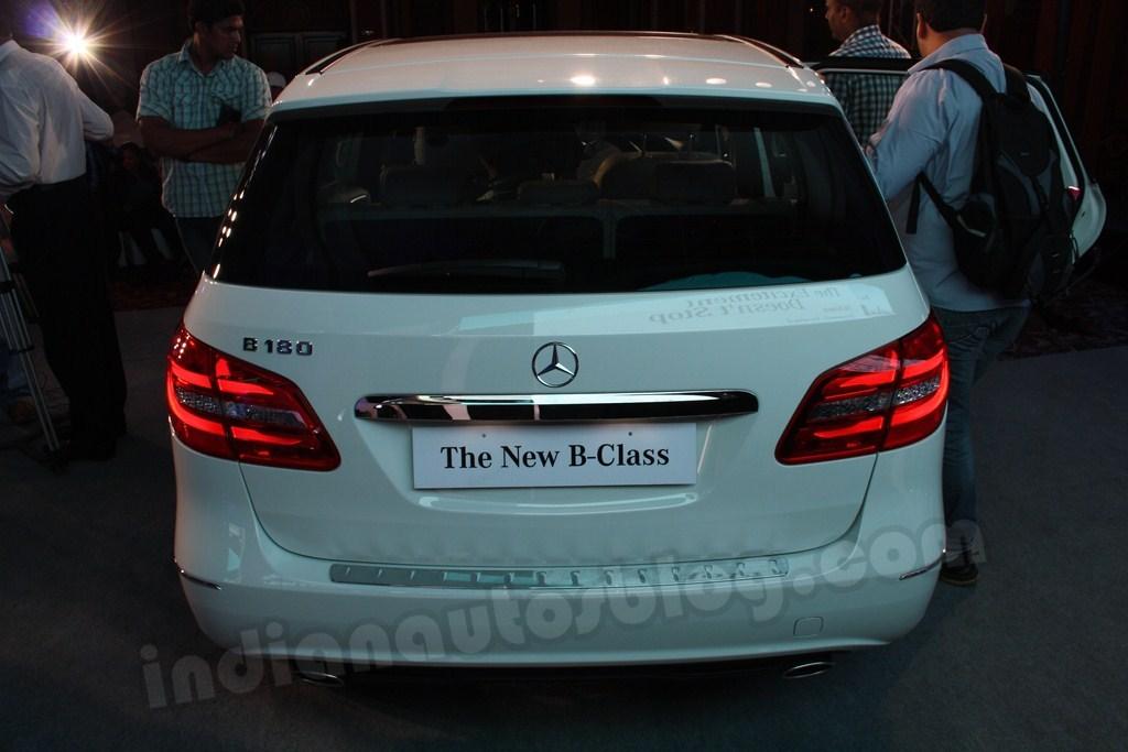 Mercedes B Class rear profile
