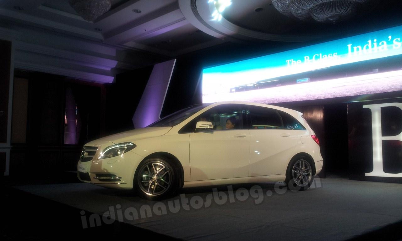 Mercedes B Class launch India
