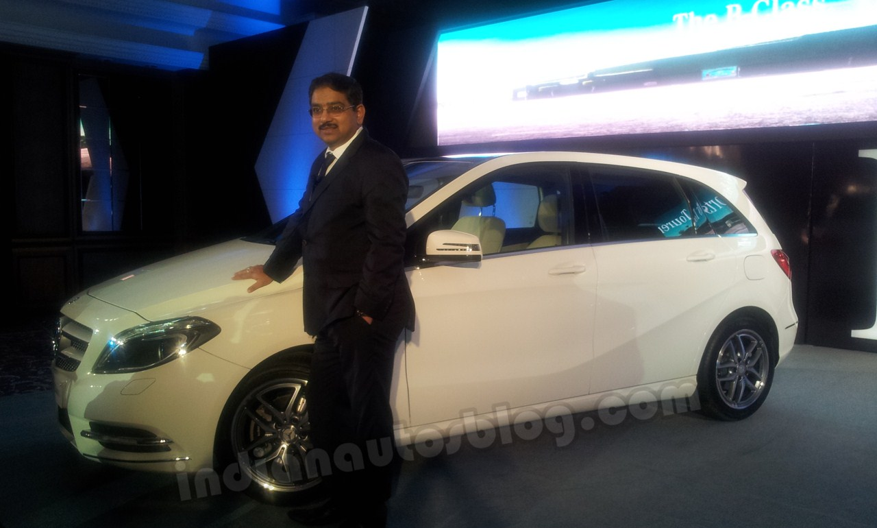 Mercedes B Class with Mr Debashis Mitra