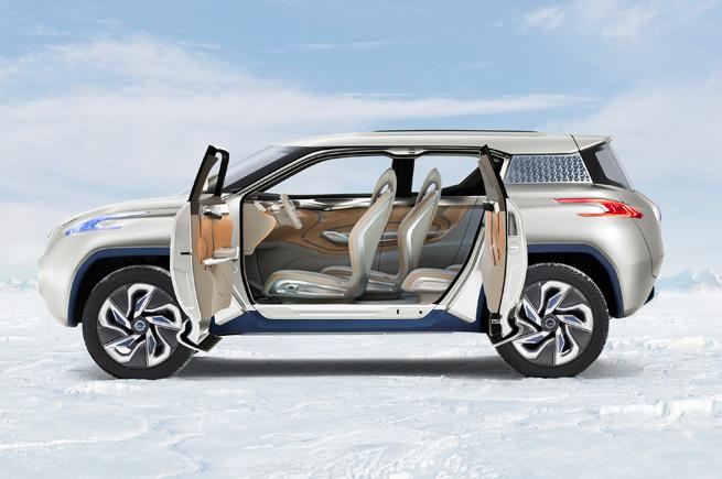 Nissan Terra FCEV Concept side