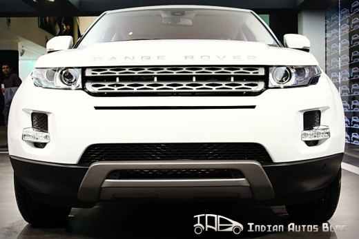Range Rover Evoque front-end