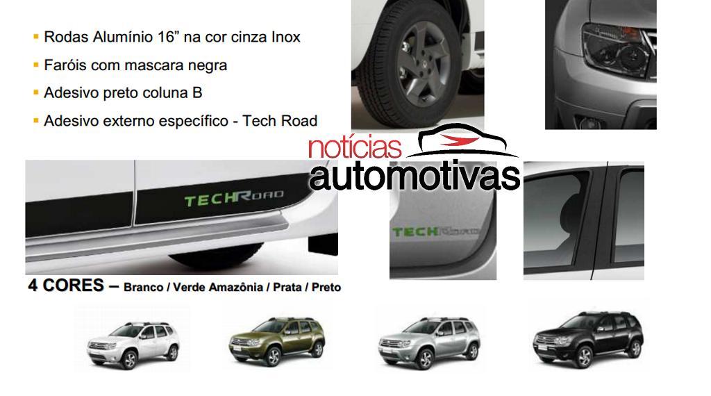 Renault Duster TechRoad accessories