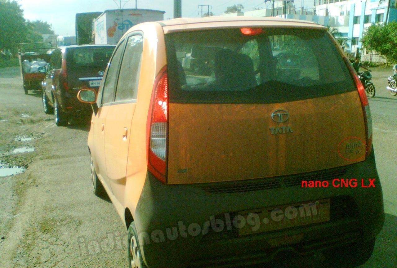 Tata Nano CNG LX