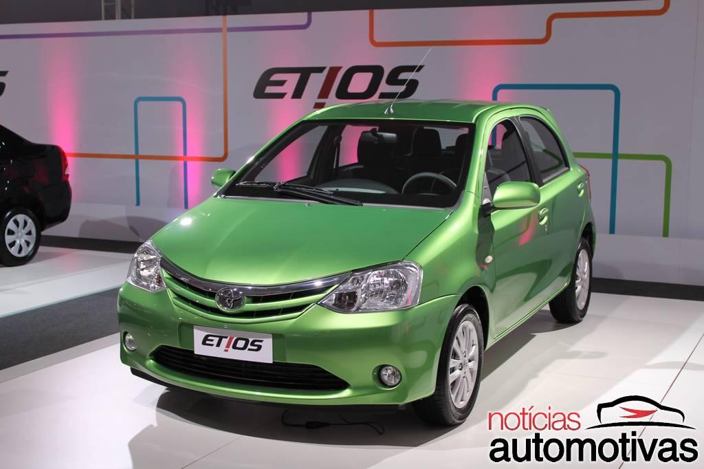 Toyota Etios hatchback Brazil