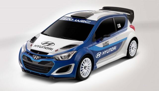 hyundai i20 wrc concept 2012 paris auto show