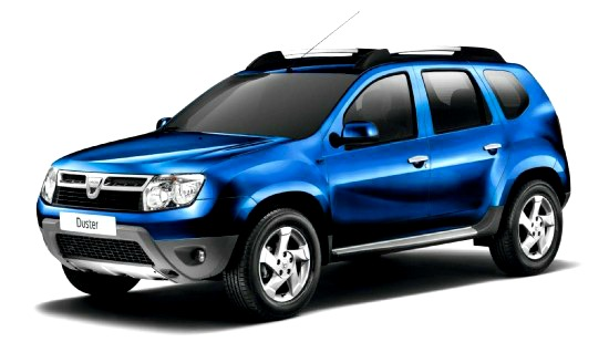 Dacia Duster that is going to the UK